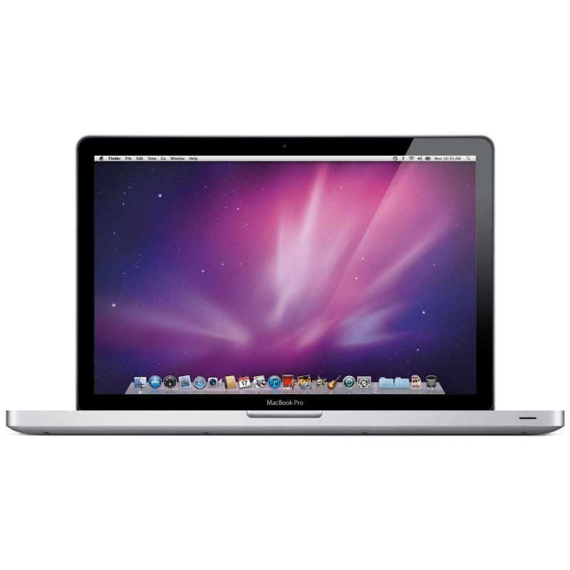 """MacBook Pro 15"""" Core i7 2GHz 8Go 128Go SSD (MC721F/A - Early 2011) Argent"""