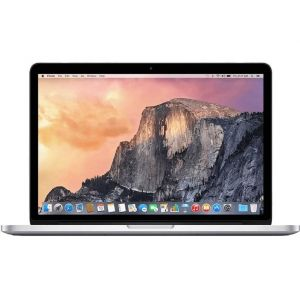 """MacBook Pro 13"""" Core i5 2.5GHz 8Go 128Go SSD Retina (MF839F/A - Early 2015) Argent"""