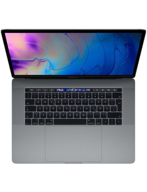 """MacBook Pro 15"""" Core i7 2.8GHz 16Go 256Go SSD Retina Touch Id Gris Sidéral (MPTR2FN/A - 2017)"""