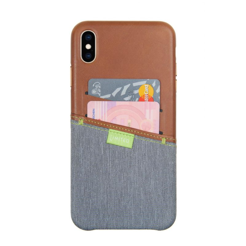 Gecko Covers Coque pour iPhone XS Max Limited braun