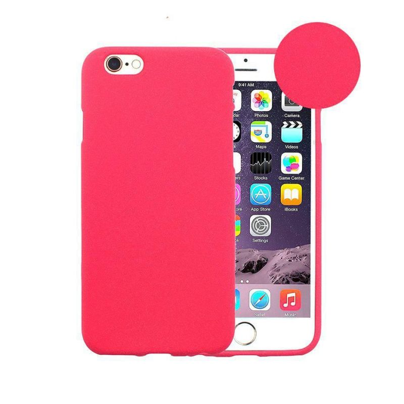 Cover UniColor iPhone 7+/8+ Pink