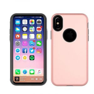 Cover Hybrid X pour iPhone X ROSE GOLD