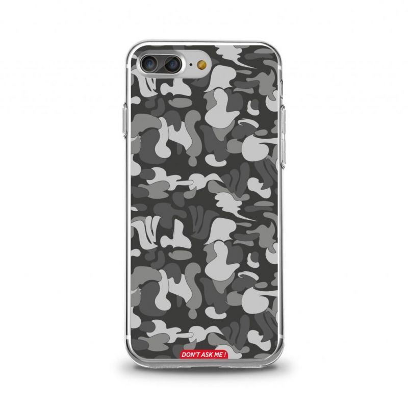Cover en TPU ''Don't Ask Me'' Dark Grey pour iPhone iPhone 6+/6s+